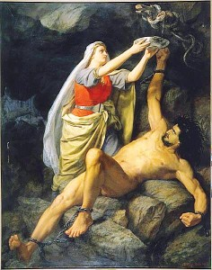Loki, by Mårten Eskil Winge 1890