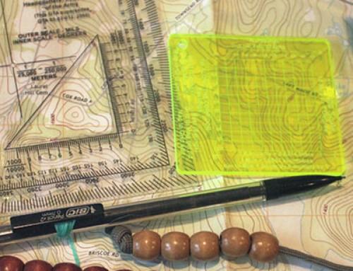 Land Navigation course Part 2: Maps.