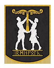 Irminfolk Odinist Community Logo