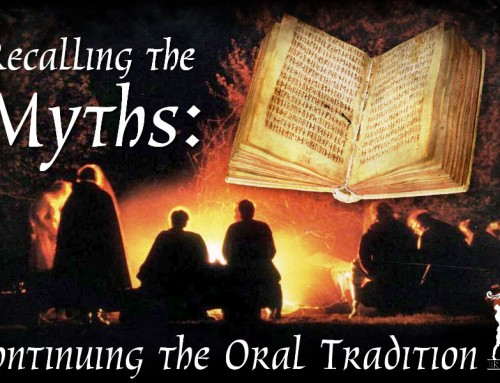 Recalling the Myths: Continuing the Oral Tradition